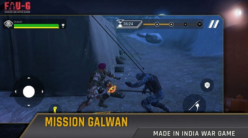 Campaign mode in FAU-G (Image via Google Play Store)