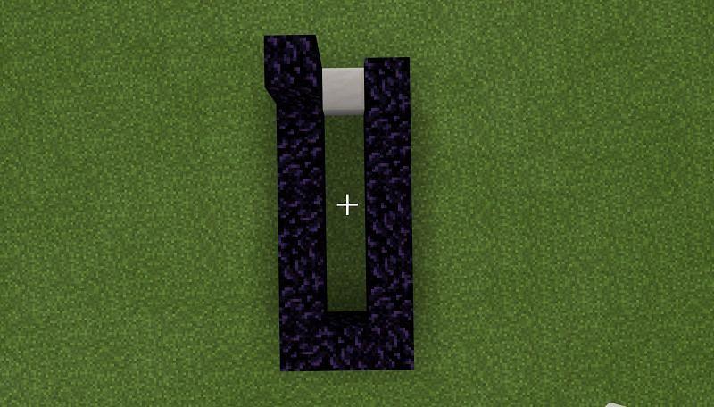 Finished base (Image via Minecraft)