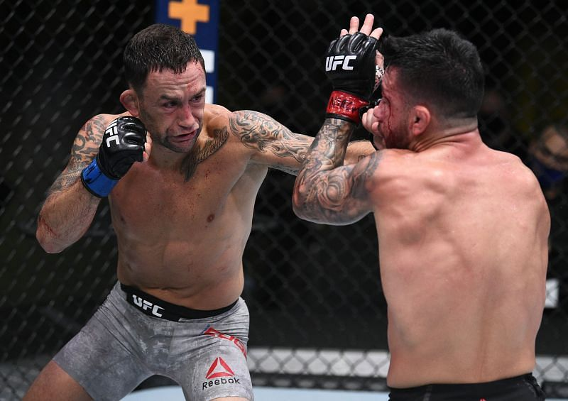 Frankie Edgar no longer appears to be as durable as he once was.