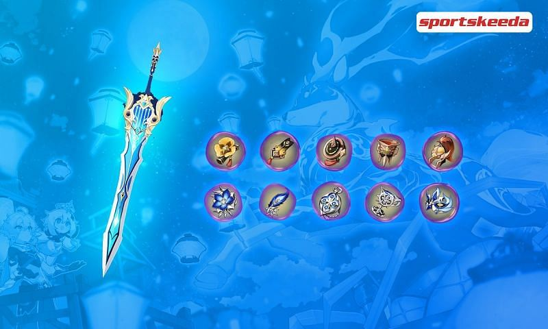 Genshin Impact 1.5 reveals 5-star signature artifacts and weapons for Eula and Zhongli