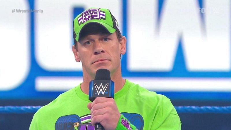 John Cena is yet to appear inside the WWE Thunderdome.