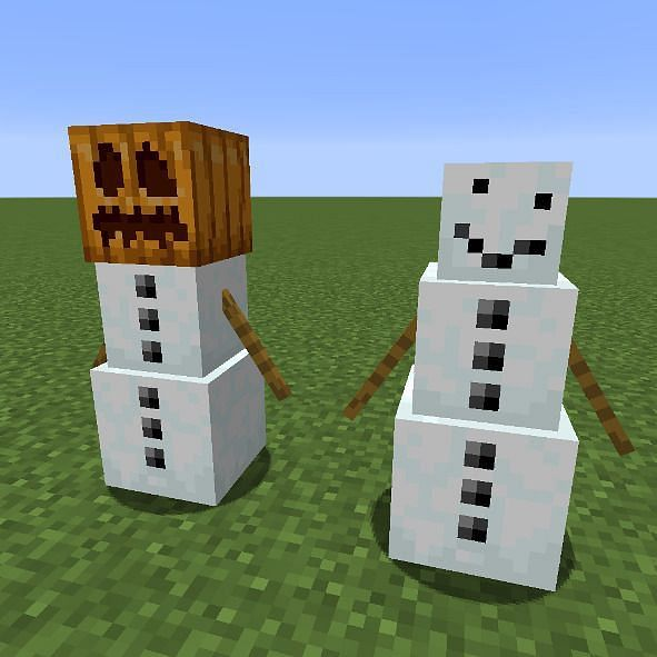 Snow golem appearance (Image via gamergeekz)