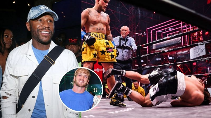 Logan Paul Has A Warning For Floyd Mayweather After Jake Paul S Ko Victory Over Ben Askren