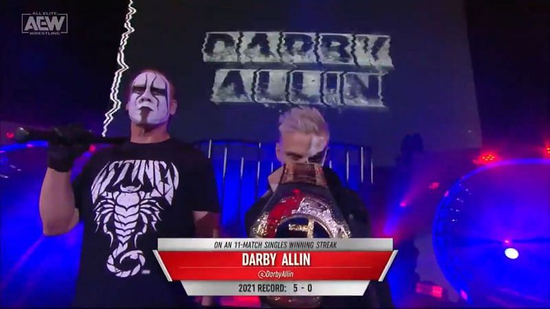 Darby Allin and Sting make quite a formidable AEW pairing