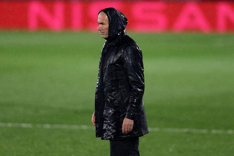 Real Madrid manager Zinedine Zidane.