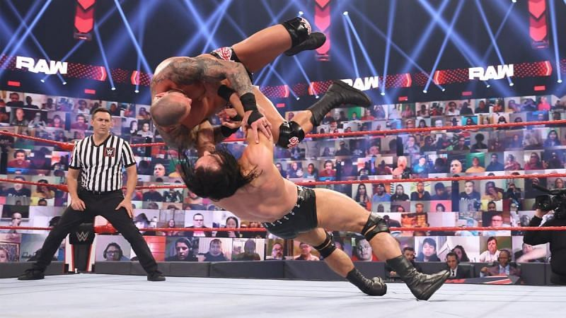 Drew McIntyre was brilliant inside the ring