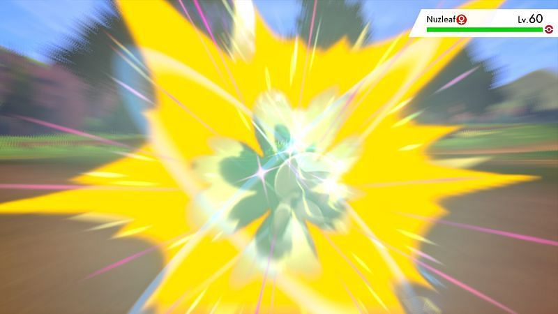 Sacred Sword (Image via Game Freak)