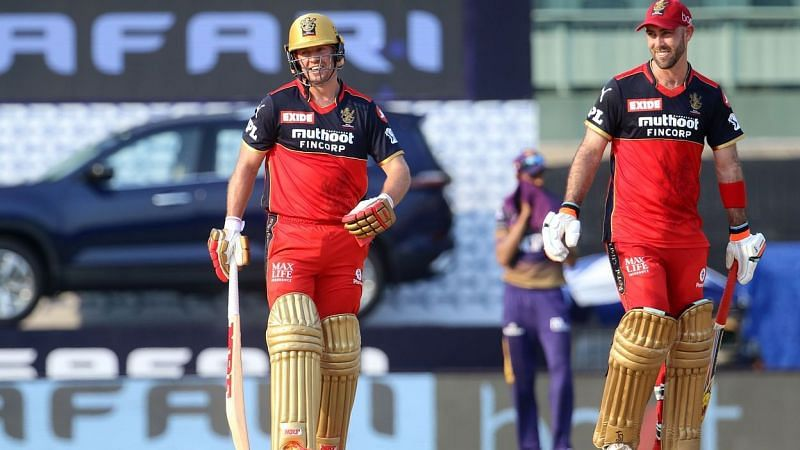 Maxwell and ABD took the KKR bowlers to the cleaners