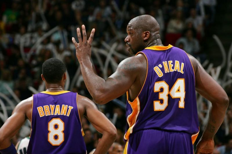 Kobe Bryant and Shaquille O