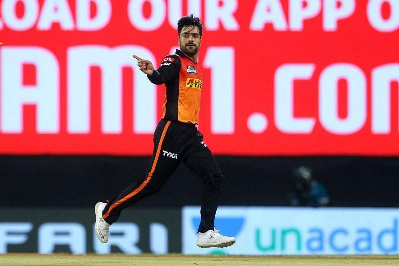 Rashid Khan returned with figures of 1-24 against RR.