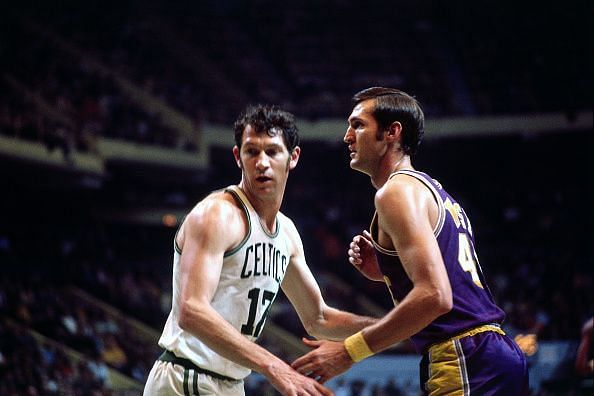 Jerry West (right)
