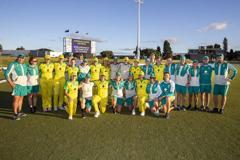 New Zealand Women vs Australia Women - ODI Game 1