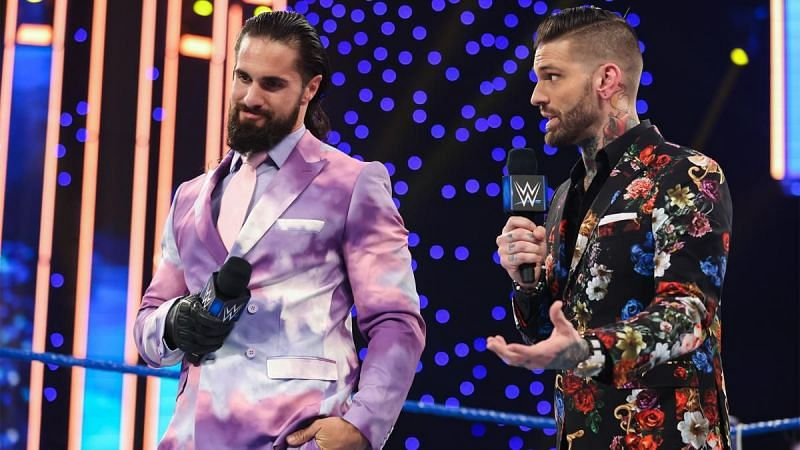 Seth Rollins has put on a few interesting suits lately
