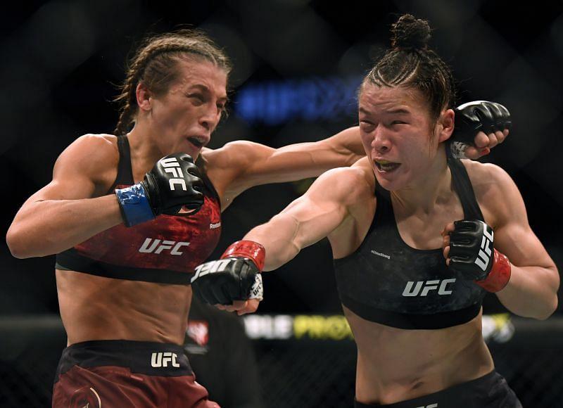 UFC 248 Zhang v Joanna