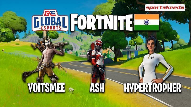 """In conversation with Ashmit """"Ash"""" Bindra, fragger for the Global Esports Fortnite roster (Image via Sportskeeda)"""