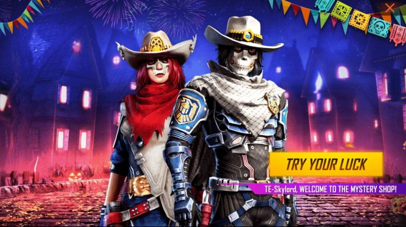 Mystery Shop event in Garena Free Fire