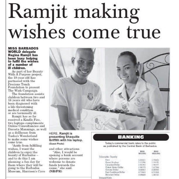 Regina Ramjit making news