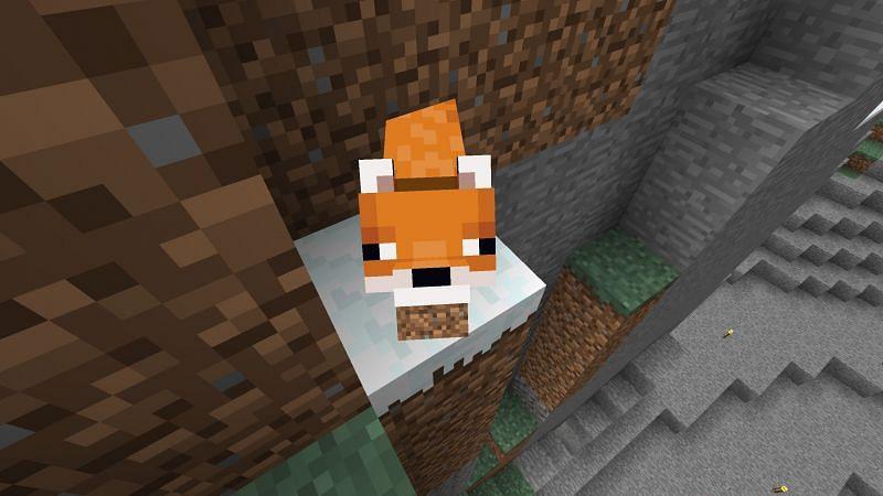 Fox in Minecraft (Image via Reddit)