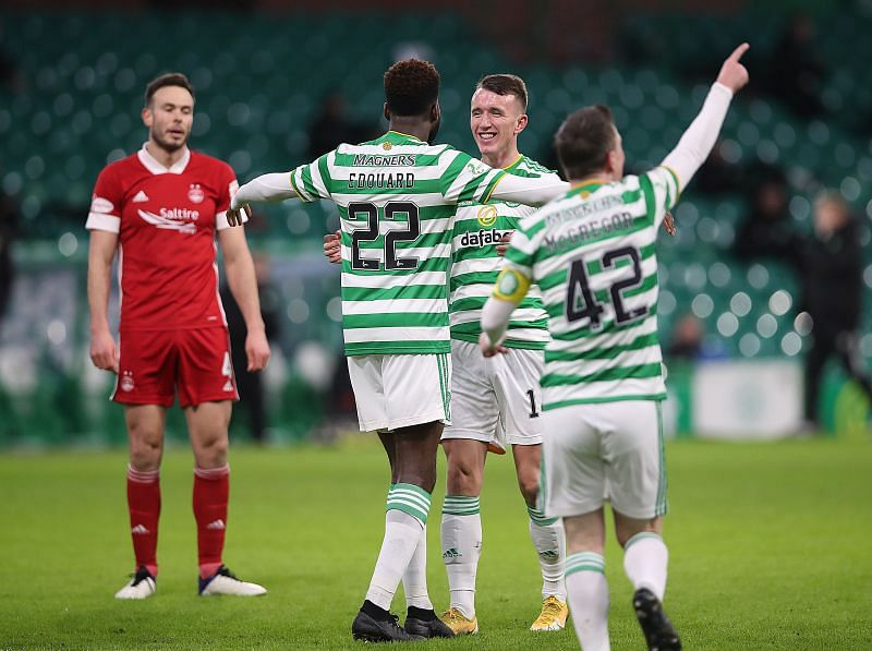 Aberdeen welcome Celtic to the Pittodrie Stadium