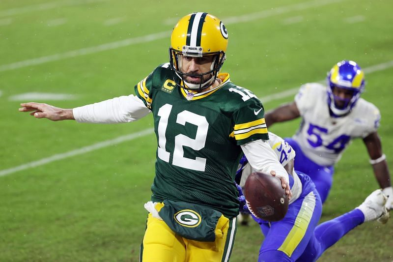 Divisional Round - Los Angeles Rams vs Green Bay Packers