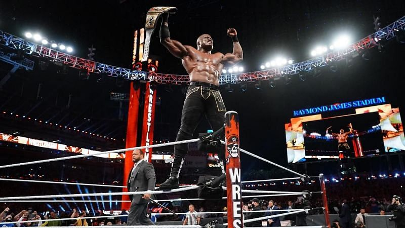 Bobby Lashley walked out of WrestleMania with the WWE Title intact.