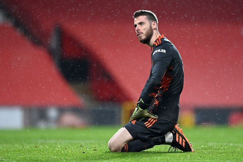 Manchester United has conceded a few questionable goals when De Gea has played
