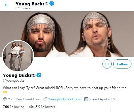 The Young Bucks respond to Seth Rollins