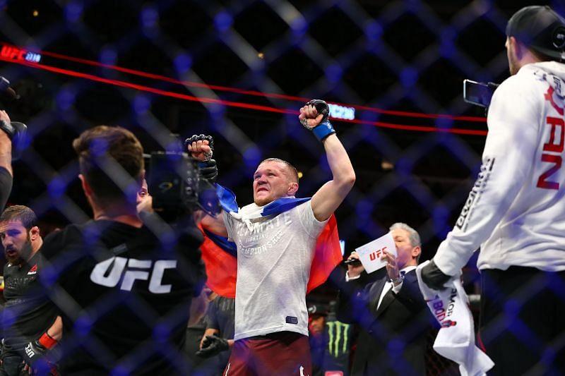 Former UFC bantamweight champion Petr Yan