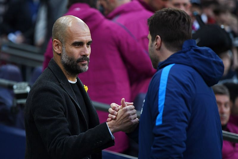 Pochettino and Guardiola have come up against each other on many occasions