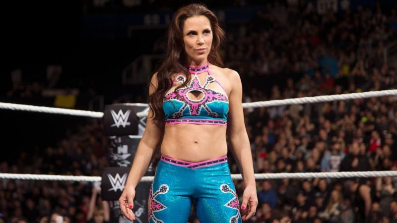 Mickie James recently received her WWE release