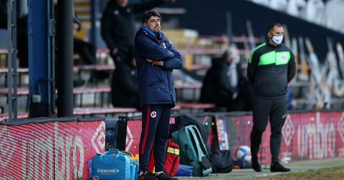 Dejected Royals boss following his side