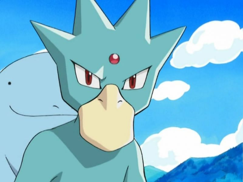 Golduck in the anime (Image via The Pokemon Company)