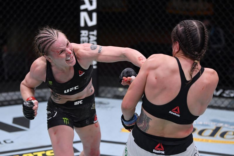 Valentina Shevchenko has already put together four successful title defences and is now looking for her fifth.