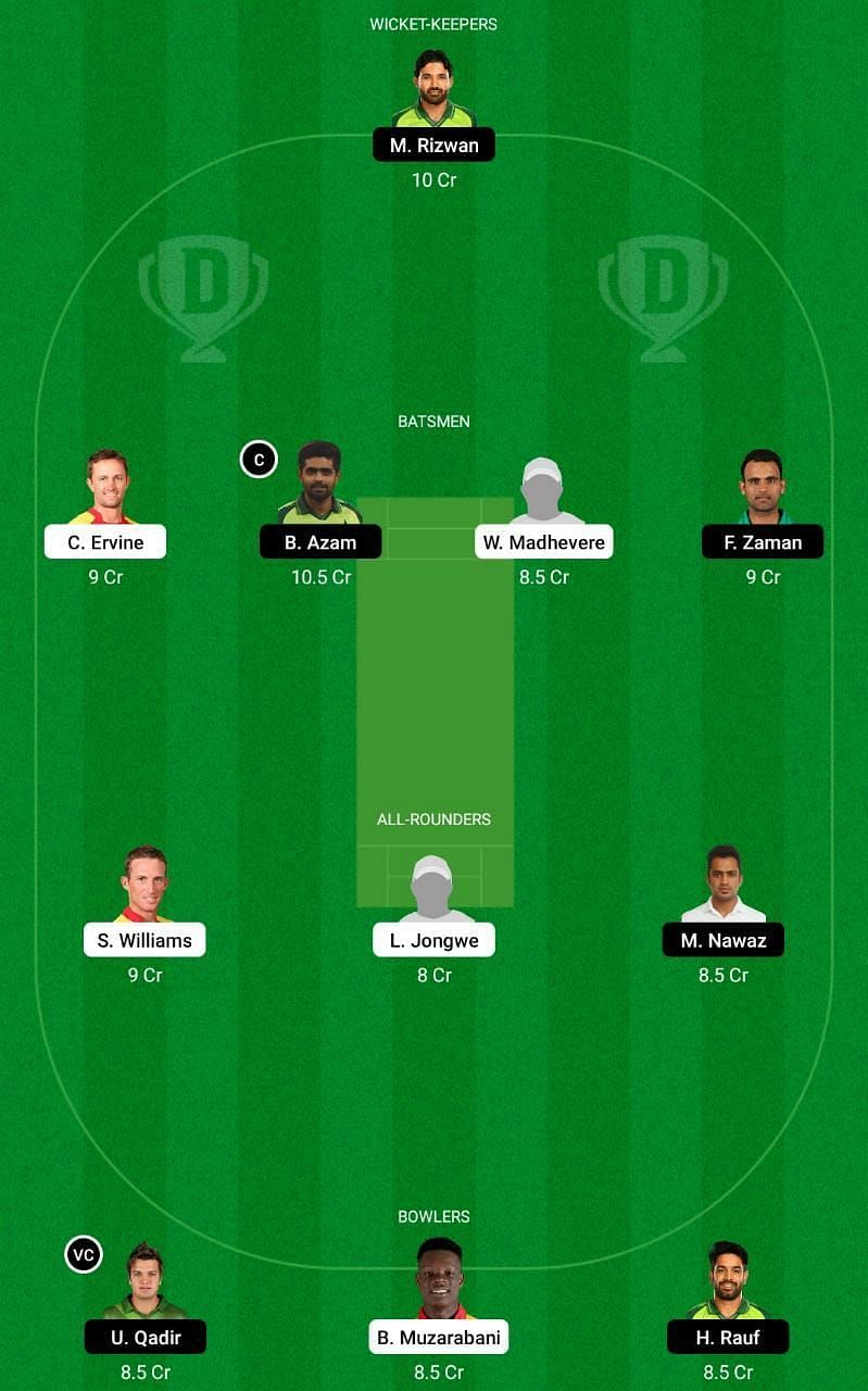 ZIM vs PAK 2nd T20I Dream11 Tips