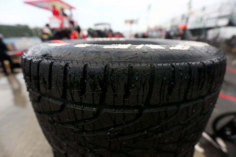 NASCAR wants to test the feasibility of using rain tires on ovals. Photo: Sarah Crabill / Getty Images
