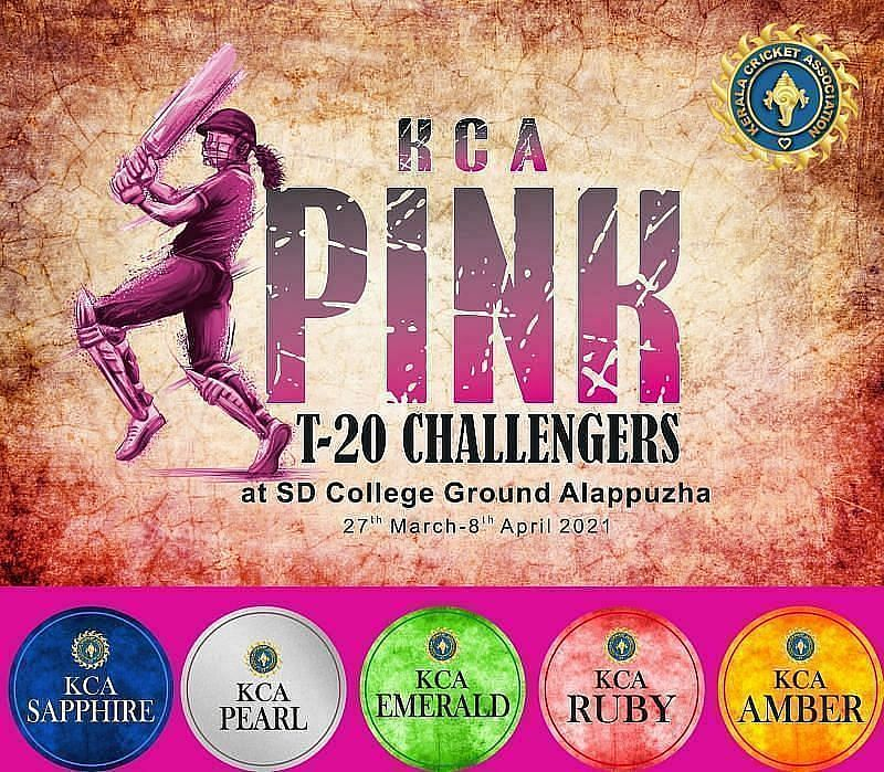 Dream11 Fantasy tips - KCA Pink T20 Challengers