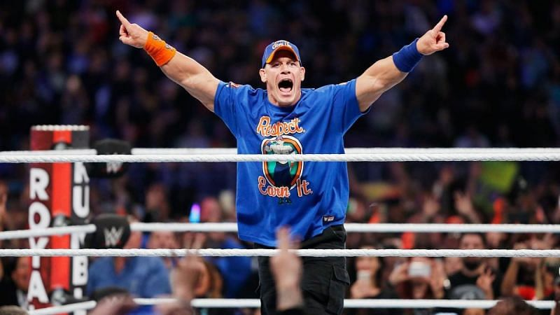 John Cena at Royal Rumble 2017
