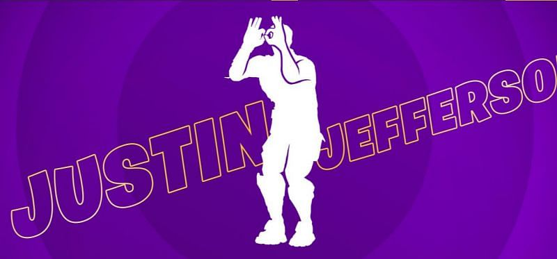 Justin Jefferson Griddy emote in Fortnite Season 6: Everything players need to know about the latest Icon Series (Image via Epic Games)