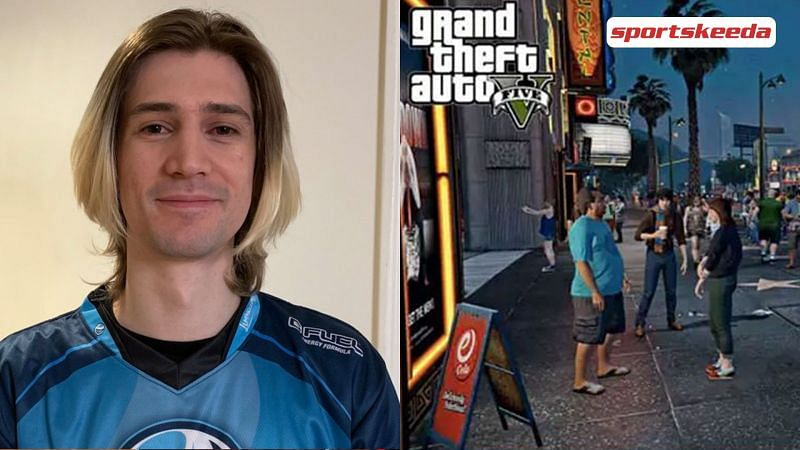 xQc is famous for his gaming streams, mainly Minecraft and Mario Kart (Image via Sportskeeda)