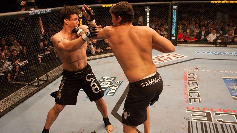 Marcio Cruz (right) earned his UFC opportunity by becoming a Brazilian Jiu-Jitsu legend.