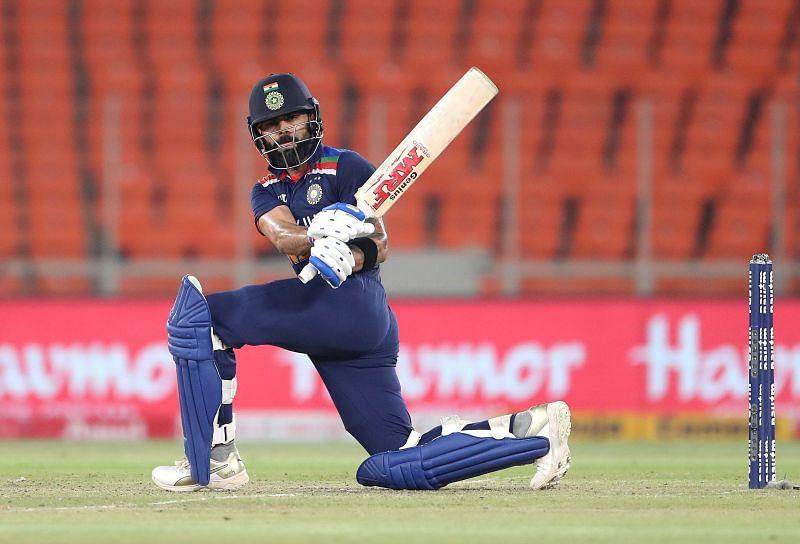 Virat Kohli scored an unbeaten 80 as an opener in the final T20I against England