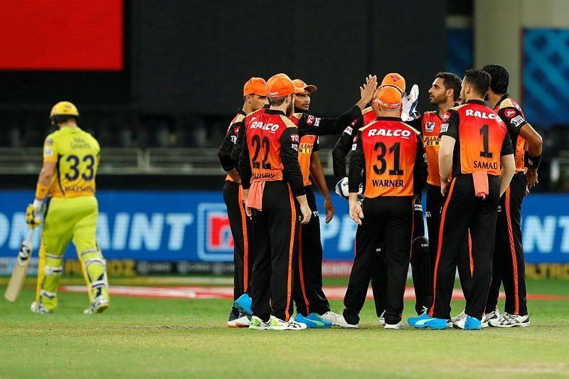 Bhuvneshwar Kumar has a splendid record against the Chennai Super Kings (Image Courtesy: IPLT20.com)