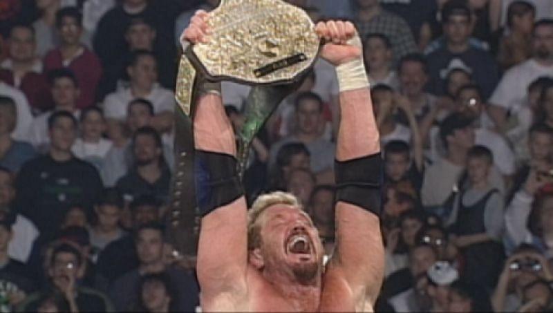 DDP won the WCW World Heavyweight Championship three times