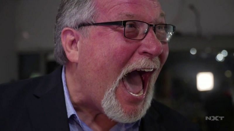 """""""The Million Dollar Man"""" Ted DiBiase made a surprise cameo on WWE NXT tonight."""