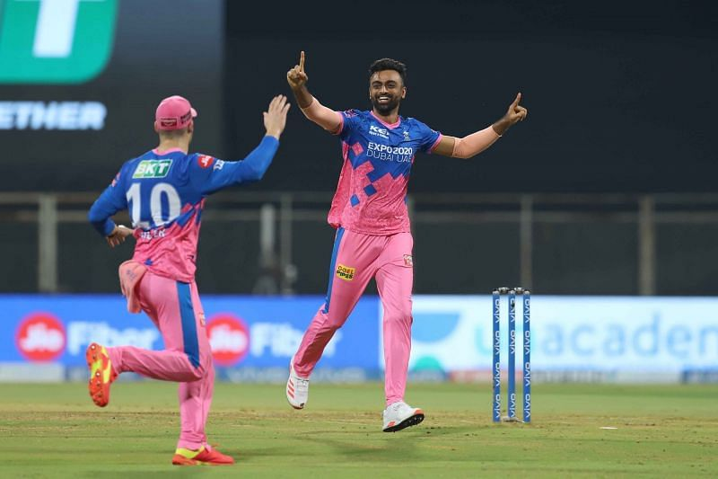 Jaydev Unadkat picked the first three wickets for the Rajasthan Royals [P/C: iplt20.com]