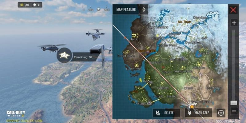 Click on map icon to maximize it
