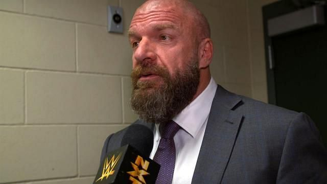 Triple H had a lot of praise for a former champion