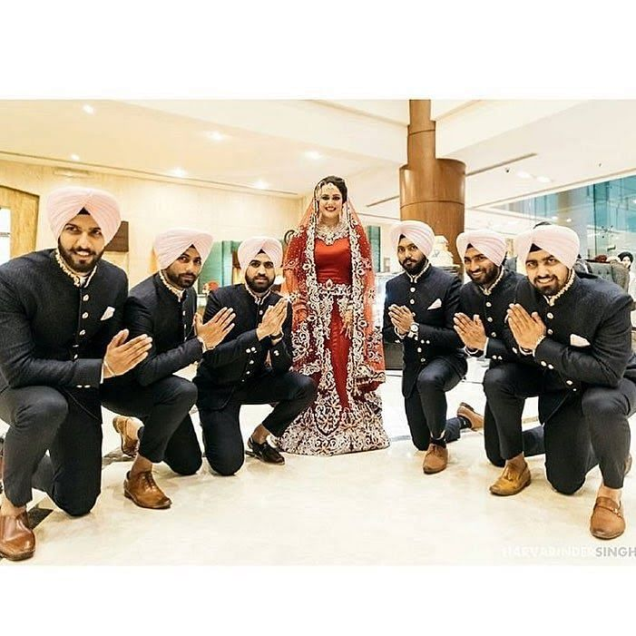 Jagdeep Jaswal's wedding