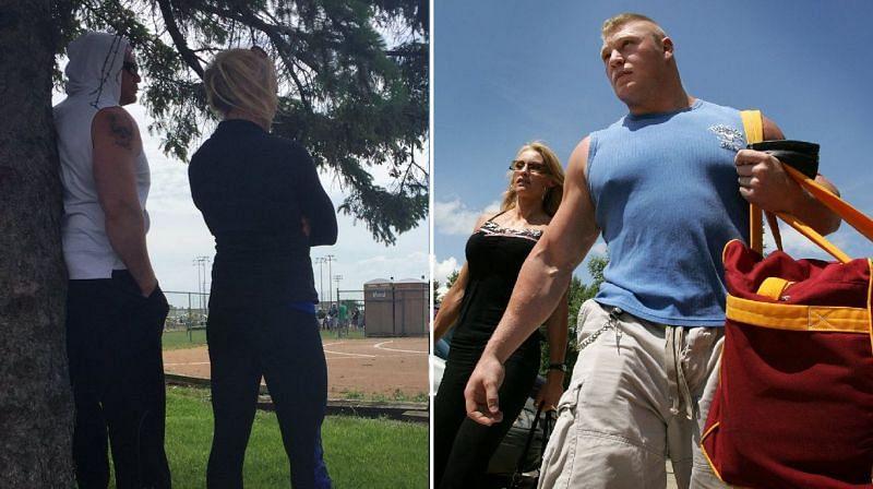 Brock Lesnar and Sable