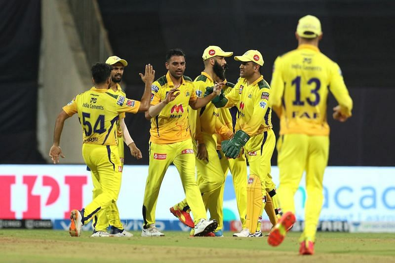 CSK has provisionally become the IPL 2021 leaders after a hat-trick of wins [Credits: IPL]